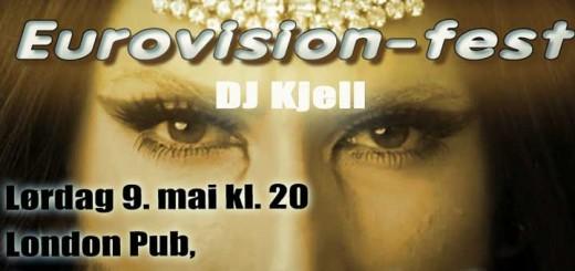 Eurovision Party med DJ Kjell