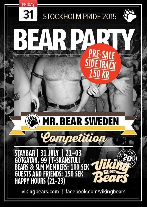 Viking Bears Bear Party