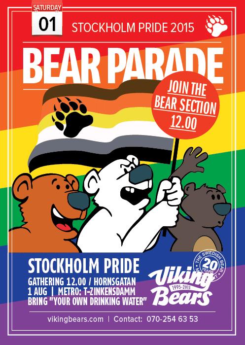 Viking Bears parade