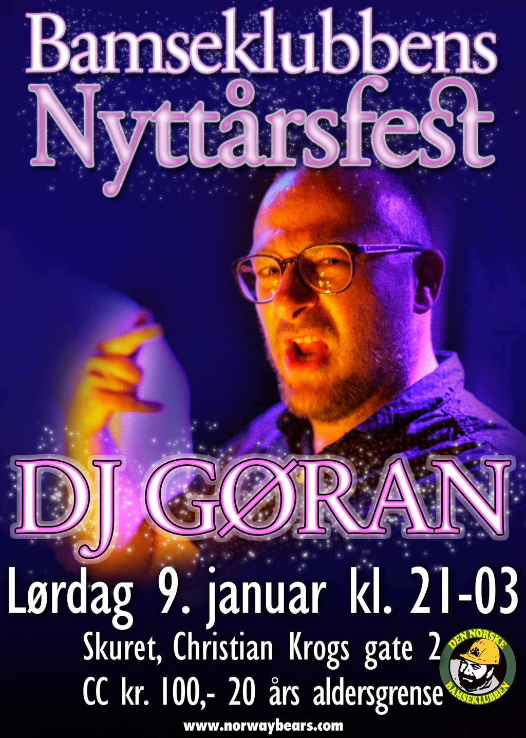 Nyttårsfest med DJ Gøran