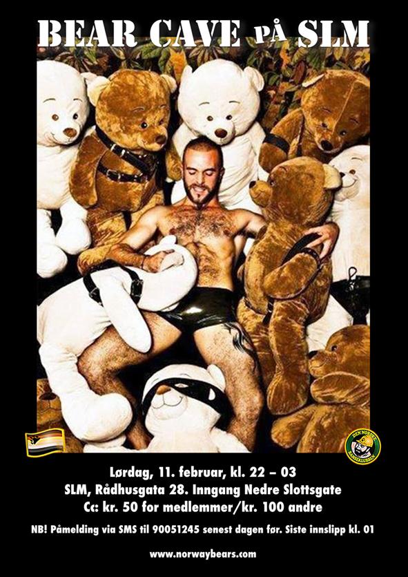 BearCave FEB2017 Plakat MINI