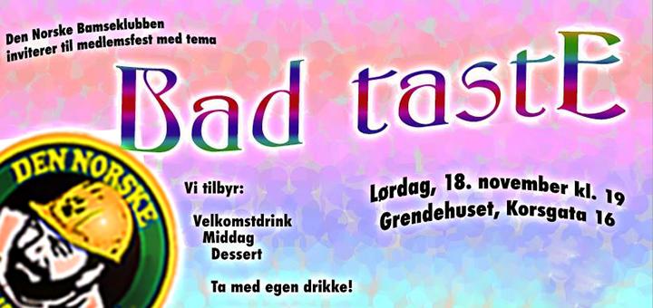 Bad-taste-party