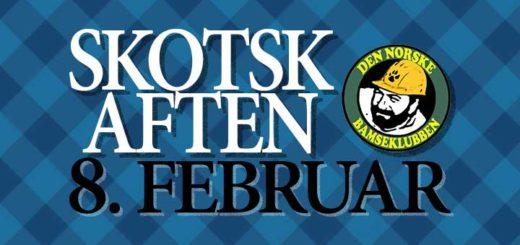 Skotsk Aften 8. februar