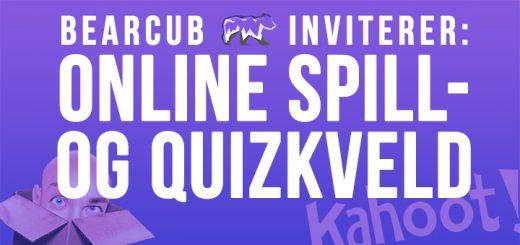 Online spill- og quizkveld 13. november